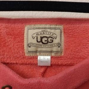 UGG Pants - Ugg pink cozy drawstring fleece pants